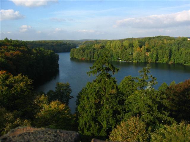 Zakończenie sezonu Łagów 2015 i sprzątanie jeziora