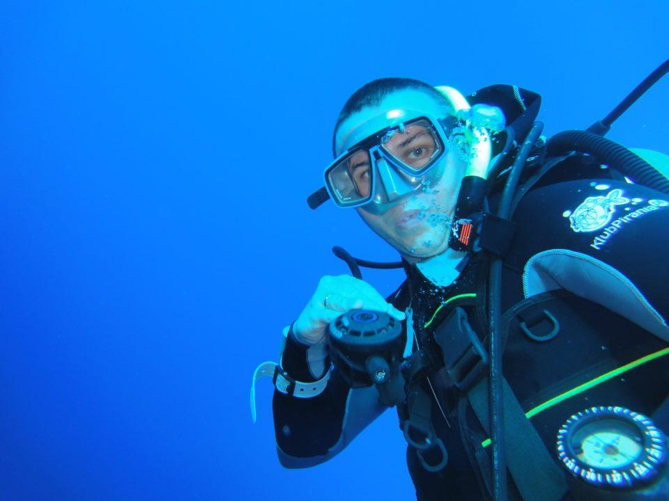 Podwodny świat Marcina :)