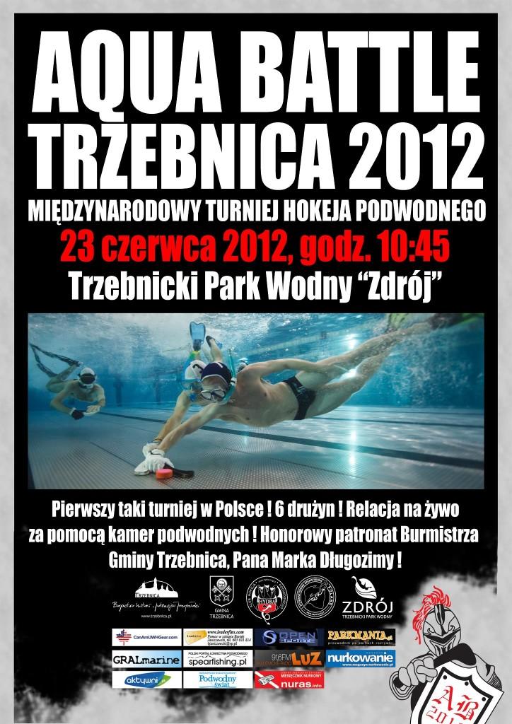 Pierwszy w Polsce Turniej Hokeja Podwodnego