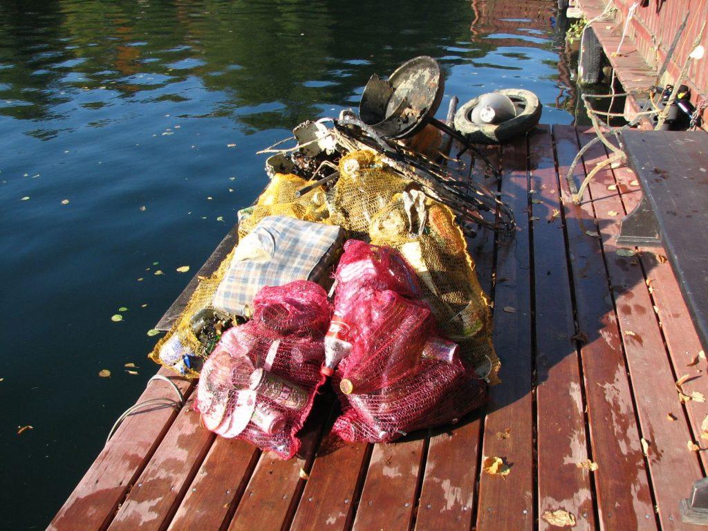 Zakończenie sezonu i sprzątanie jeziora