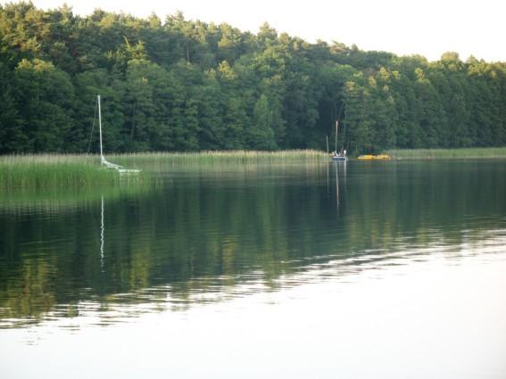 Obóz nurkowy nad jeziorem Niesłysz - lipiec 2013